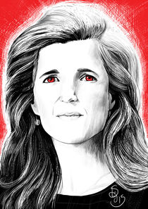 Ambassador Samantha Power by Asta Legios