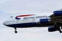 British Airways Boeing 747 by David Pyatt