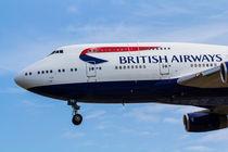 British Airways Boeing 747 von David Pyatt