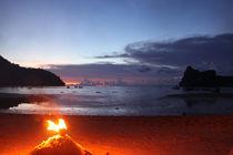Sunset at Ko Phi Phi by gunter70
