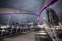 Lowry Bridge Salford Quays by Martin Williams
