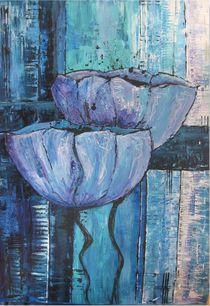 Mohn lila von Heidi Hagenmeyer