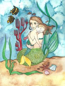 Mermother & Merchild von fairychamber