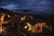 Cortona at Night by Arianna Biasini