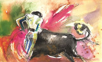 Bullfighting With Grace von Miki de Goodaboom