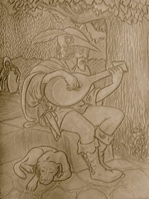 Troubador by Ron Moses