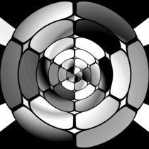 Chromed black and white by Gaspar Avila
