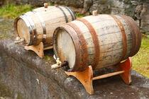 Wine barrels by Gaspar Avila