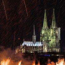 Kölner Lichter by © Ivonne Wentzler