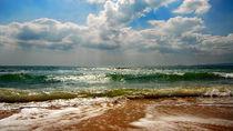 Black Sea, Crimea, Russia von Yuri Hope