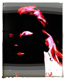 F. digital Art by AndreA Nr. 7 by Andrea Roling