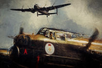 Avro Lancasters by Sam Smith