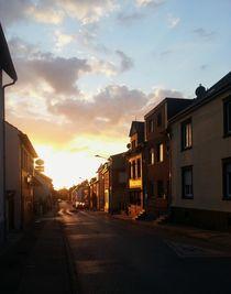 Sonnenuntergang (Sunset) in Bardenberg by Philipp Tillmann