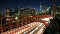 New York erwacht bei Nacht von tp-photos