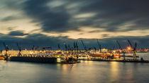 Hamburger Hafen von Dennis Südkamp