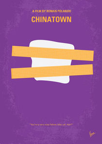 No015 My chinatown minimal movie poster by chungkong