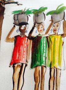 Marktfrauen by Annegret Hoffmann