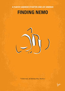 No054 My Finding Nemo minimal movie poster by chungkong
