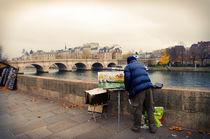 Paris Autumn Landscape by cinema4design