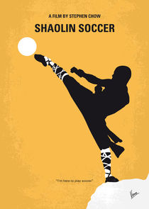 No480 My Shaolin Soccer minimal movie poster von chungkong