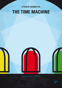 No489-my-the-time-machine-minimal-movie-poster