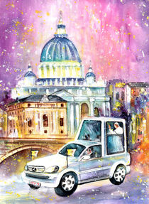 Vatican Authentic by Miki de Goodaboom