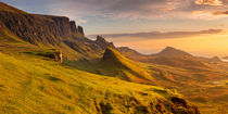 Sunrise at Quiraing, Isle of Skye, Scotland by Sara Winter