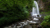 Melincourt waterfalls at Resolven south Wales von Leighton Collins