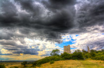 Storm Over The Castle by David Pyatt