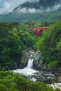 The Toroki Falls on Yakushima Island, Japan by Sara Winter