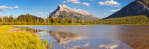 Vermilion Lakes and Mount Rundle, Banff National Park, Canada by Sara Winter