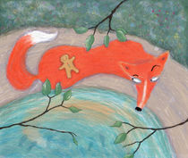 The Fox and The Little Gingerbread Man by Maxine Lee