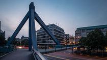 Fußgängerbrücke, Willy-Brandt-Straße, Hamburg