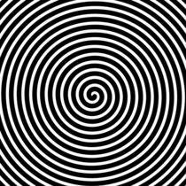 Spirale, schwarz weiß von darlya