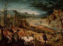 Die Rückkehr der Herde  by Pieter Brueghel the Elder