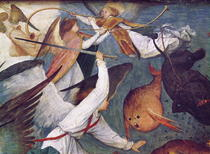 Der Fall der Rebel Angels by Pieter Brueghel the Elder