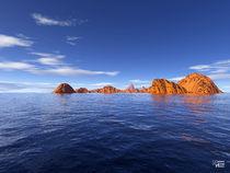 Blue Sea 01 von Norbert Hergl