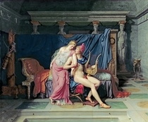 Paris und Helena  by Jacques Louis David