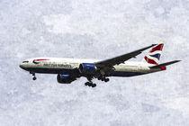 British Airways Boeing 777 Art von David Pyatt