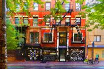 Manhattan Street Scene 2 von Stuart Row