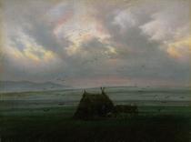 Nebelschwaden by Caspar David Friedrich