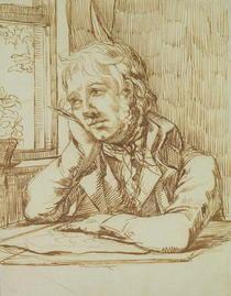 Selbstportrait  von Caspar David Friedrich
