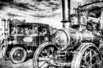 Traction Engine and Steam Lorry Vintage by David Pyatt
