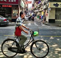 Shanghai Cyclist by Jay  Speiden