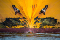 Schiffsbug Yellow von Sascha Neuroth