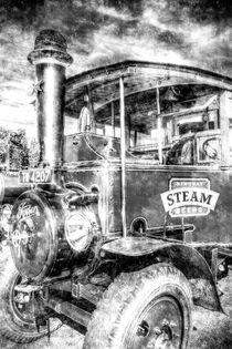 Foden Steam Lorry Vintage by David Pyatt
