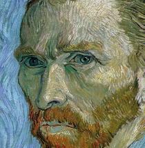 Selbstportrait by Vincent Van Gogh