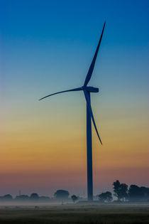 Windkraftanlage von Dennis Stracke