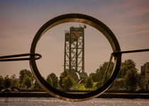 view over the Maas / Rotterdam by Oliver Heisler