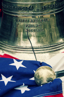 Liberty Bell, Philadelphia by Perry  van Munster